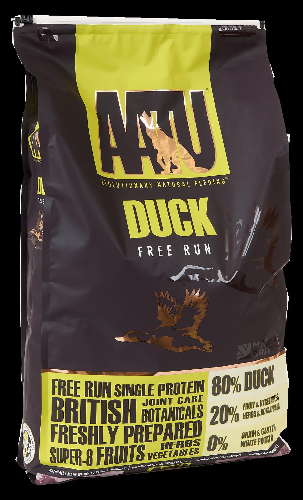 Aatu duck dog foodlead on dog shop
