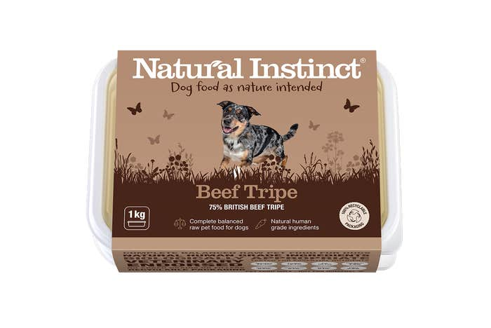 Natural Instinct Dog Food Beef Tripe 1KG