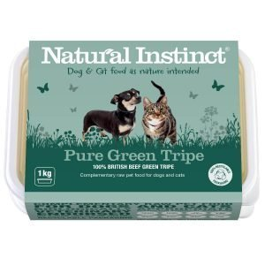Natural Instinct Dog Food Pure Green Tripe 1KG