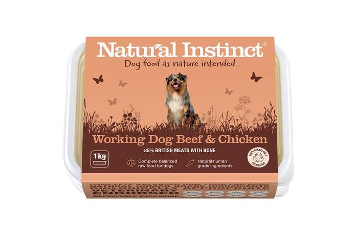 Natural Instinct Working Dog Beef & Chicken 1KG