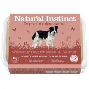 Natural Instinct Working Dog Chicken & Salmon 1KG