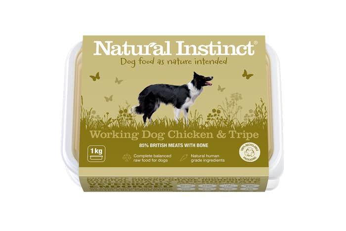 Natural Instinct Working Dog Chicken & Tripe 1KG