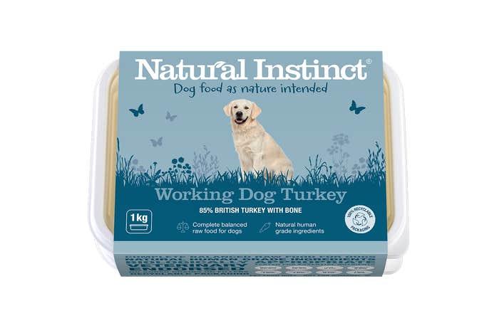 Natural Instinct Working Dog Turkey 1KG