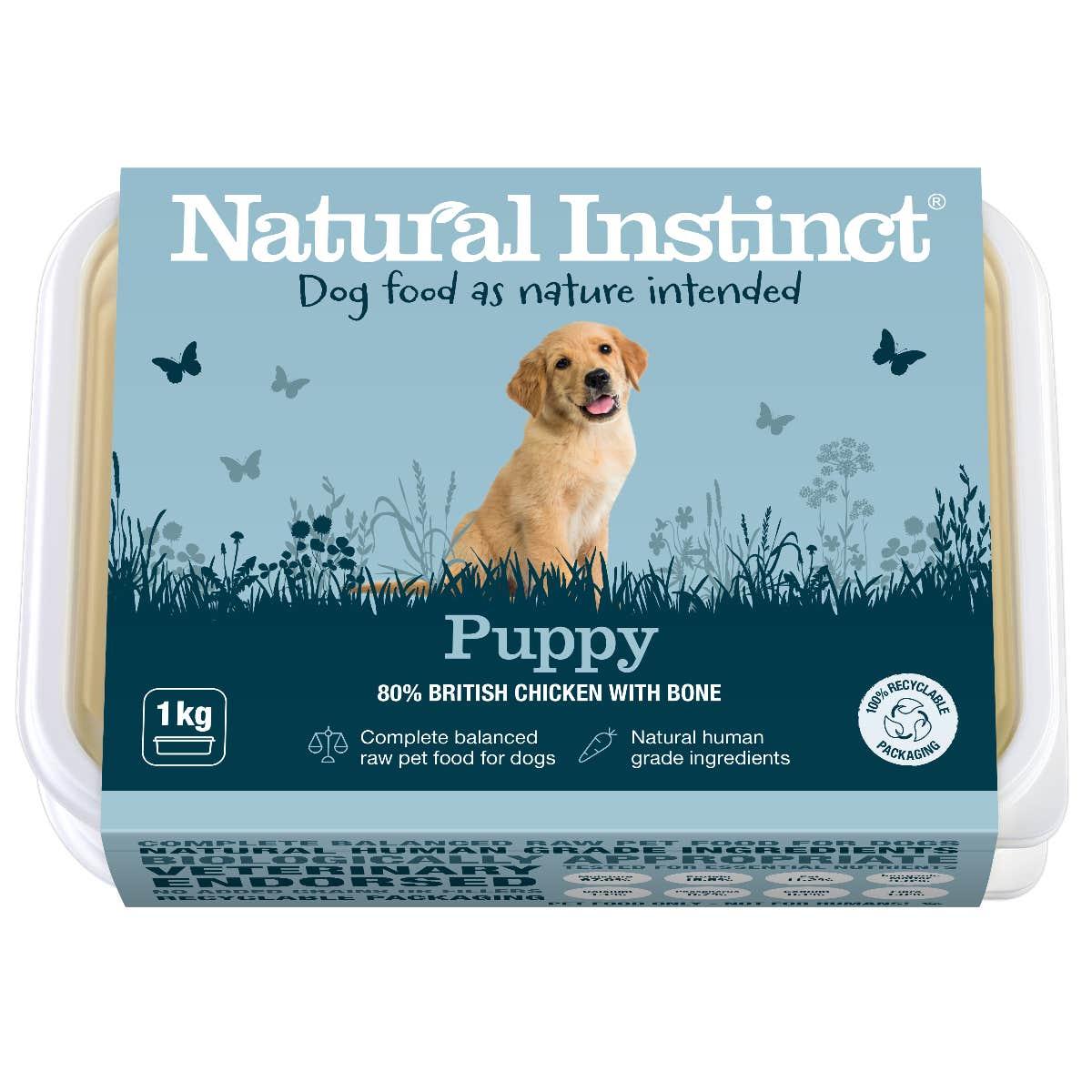 Natural Instinct Dog Food Puppy 1KG