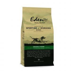 Eden 80/20 Working & Sporting Dog Food