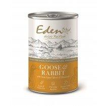 Eden Dog Food Can Gourmet Goose & Rabbit Wet Food