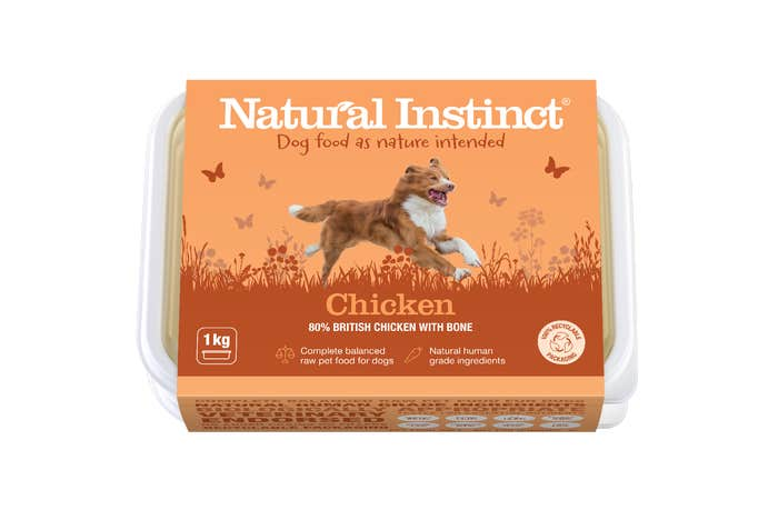 Natural Instinct Dog Food Chicken 1KG