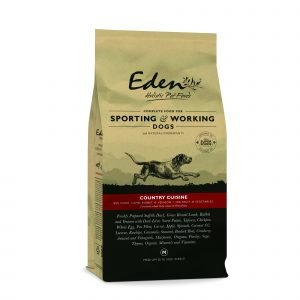 EDEN 80/20 Country Cuisine Game with Lamb Working and Sporting Dog 15kg