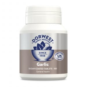 Dorwest Garlic Tablets for Dogs & Cats