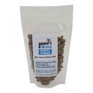 Jaspers Choice PUPPY POWER Mini Herring Bites 200g