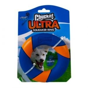 ChuckIt Ultra Squeaker Ring Retail Packet