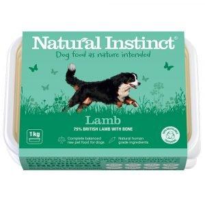 Natural Instinct Working Dog Lamb 1KG