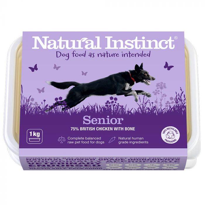 Natural Instinct Dog Food Senior 1KG