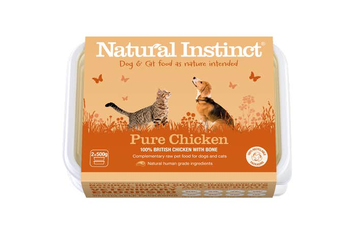 Natural Instinct Working Dog Pure Chicken 1KG