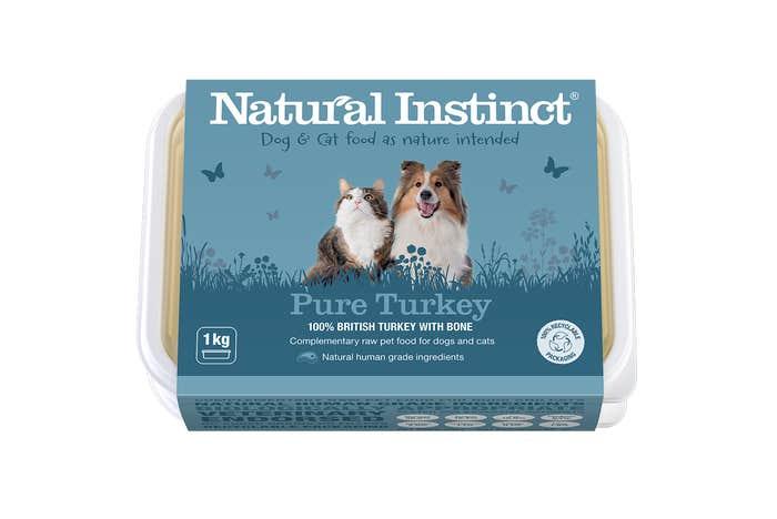 Natural Instinct Working Dog Pure Turkey 1KG
