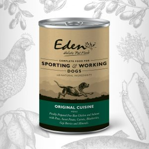 Eden Wet Food for Working Dogs Canned Dog Food